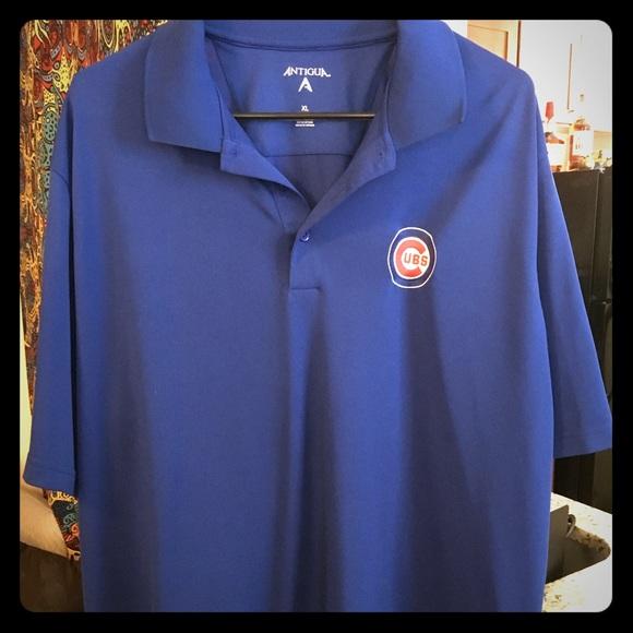 b0465888 ... exceed bullseye logo 12766; antigua shirts chicago cubs polo shirt  poshmark ...